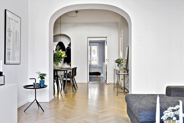 Planta semidi fana con separaciones en arco blog tienda for Ambientes interiores de casas