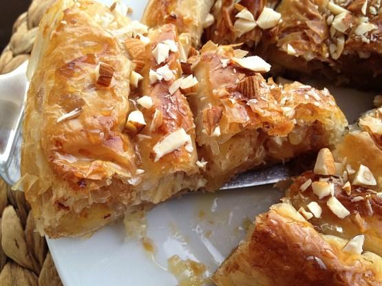 tartas masa filo tartas fáciles tarta espiral de manzana con masa filo tarta de manzana recetas delikatissen recetas con manzana postres fáciles