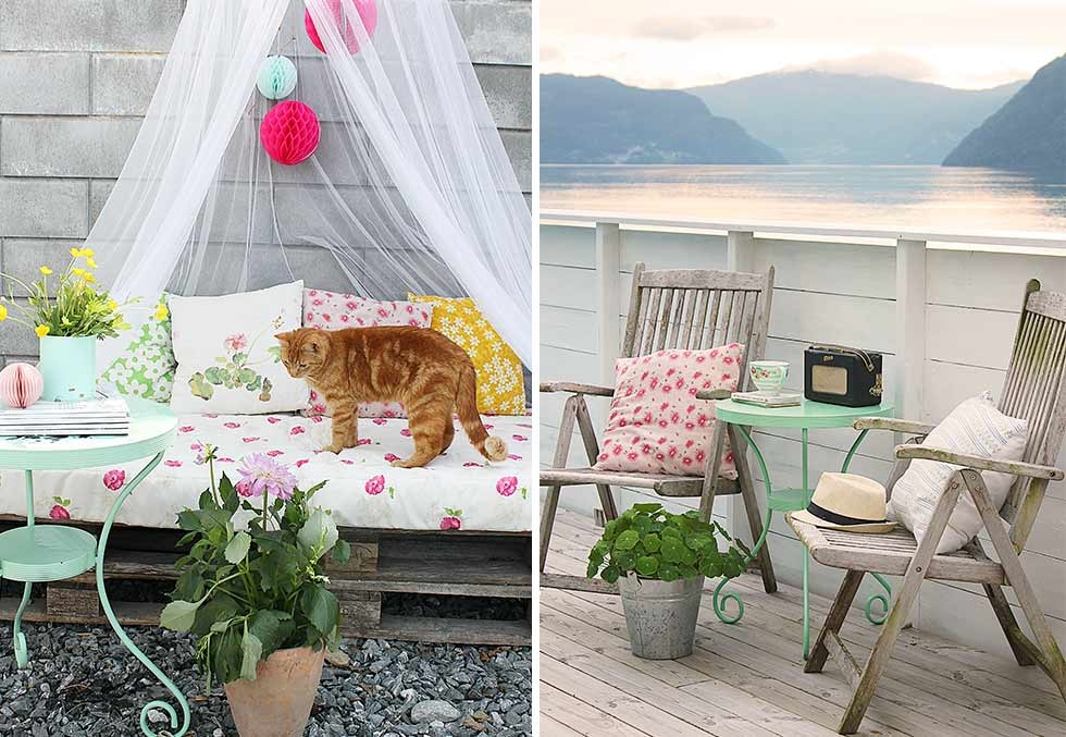 Inspiraci n para decorar terrazas y balcones blog tienda for Decoracion de terrazas con plantas