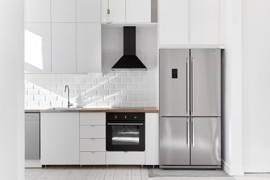 Una decoración 'limpia' estilo y diseño nórdico escandinavo estilo minimalista decoración en blanco decoracion dormitorios decoración de salones decoración de interiores cocinas modernas cocinas blancas