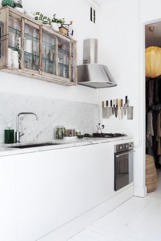 marmol en decoración marmol cocinas modernas estilo nórdico estilo minimalista Encimeras y revestimientos en la cocina de mármol cocinas nórdicas cocinas blancas modernas blog decoración de interiores