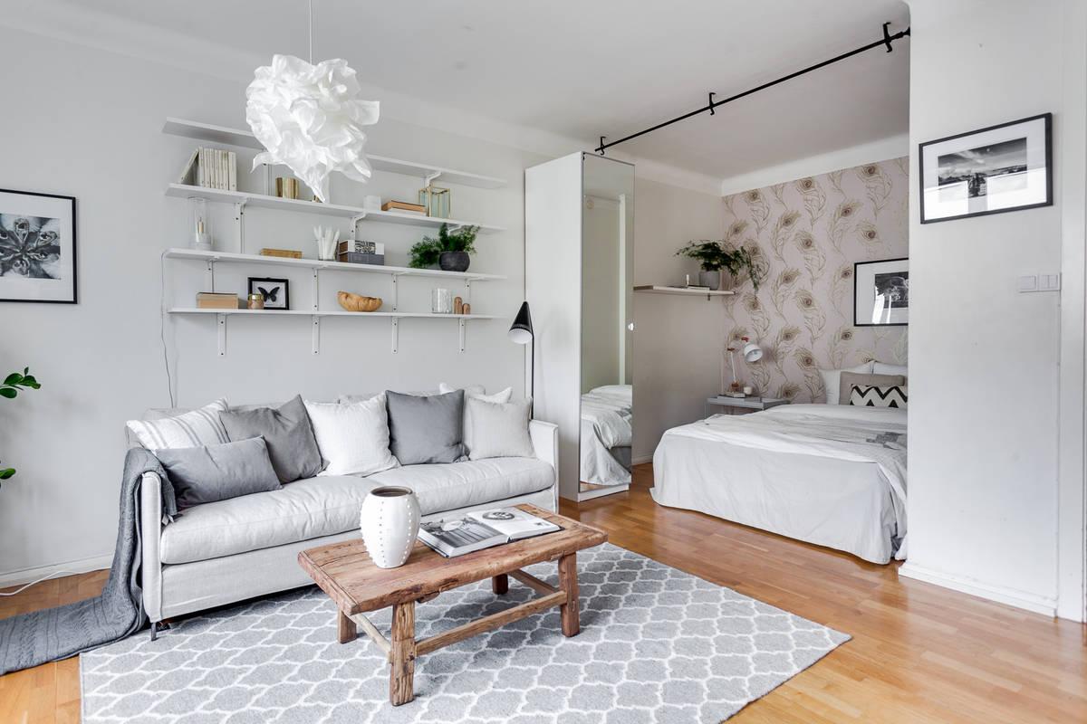 Peque o y de segunda mano pero funcional y con estilo blog tienda decoraci n estilo n rdico - Decoracion pisos pequenos ...
