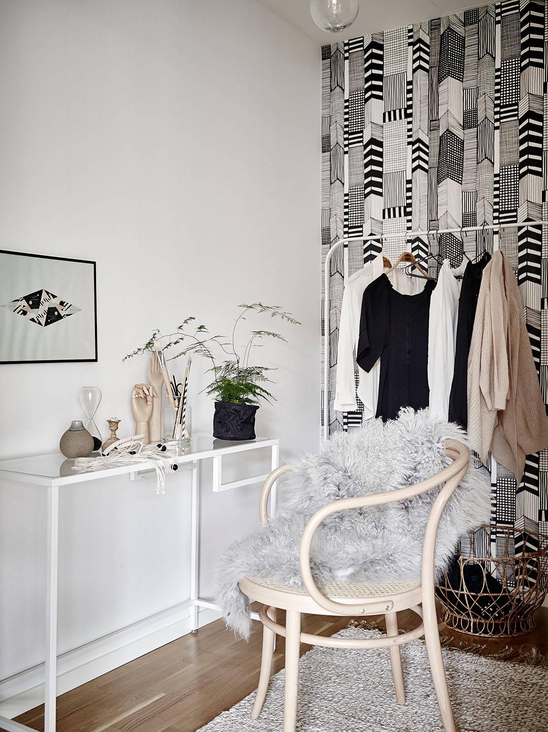 Pared del dormitorio efecto acuarela blog tienda decoraci n estilo n rdico delikatissen - Cabecero estilo escandinavo ...