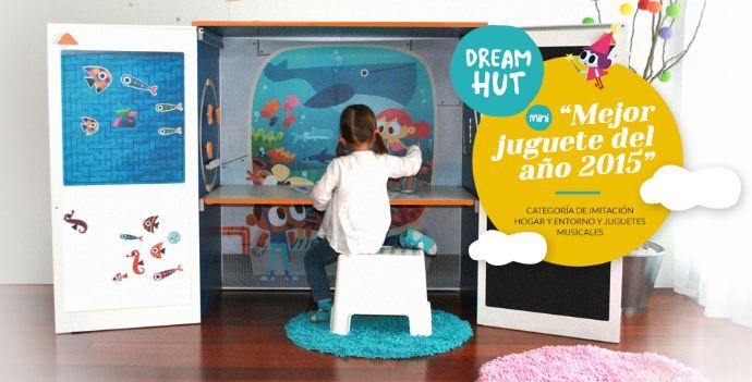 dreamhut mini u la casita de juegos de yuhuhugs que se convierte en armario y escritorio