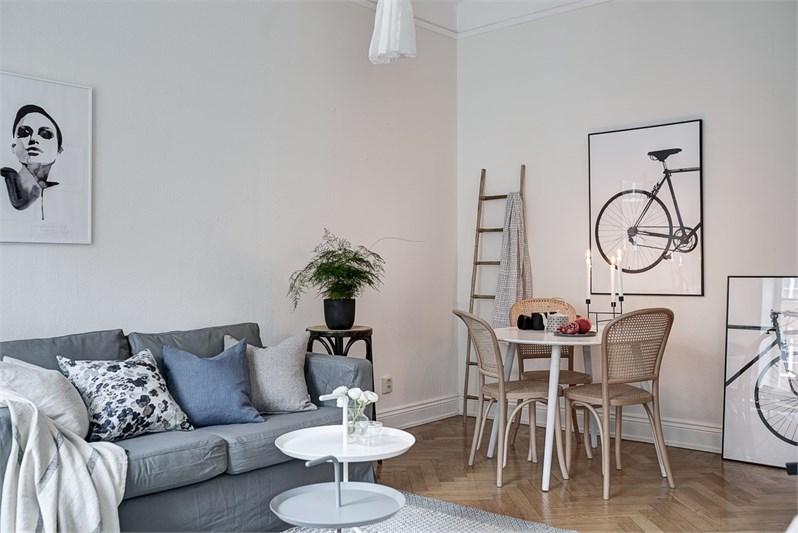 Peque o piso de 35 m y la luz n rdica blog tienda for Decoracion nordica pisos pequenos