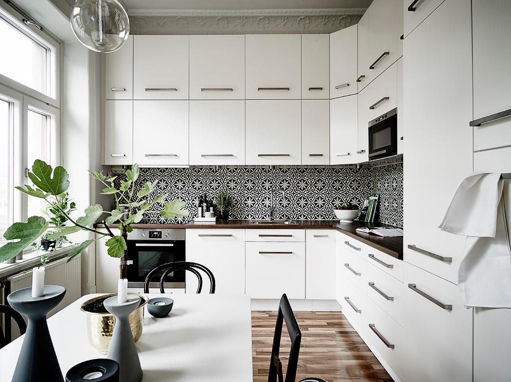 Blanco y negro sobrio y elegante blog tienda decoraci n for Disenos de interiores en blanco y negro