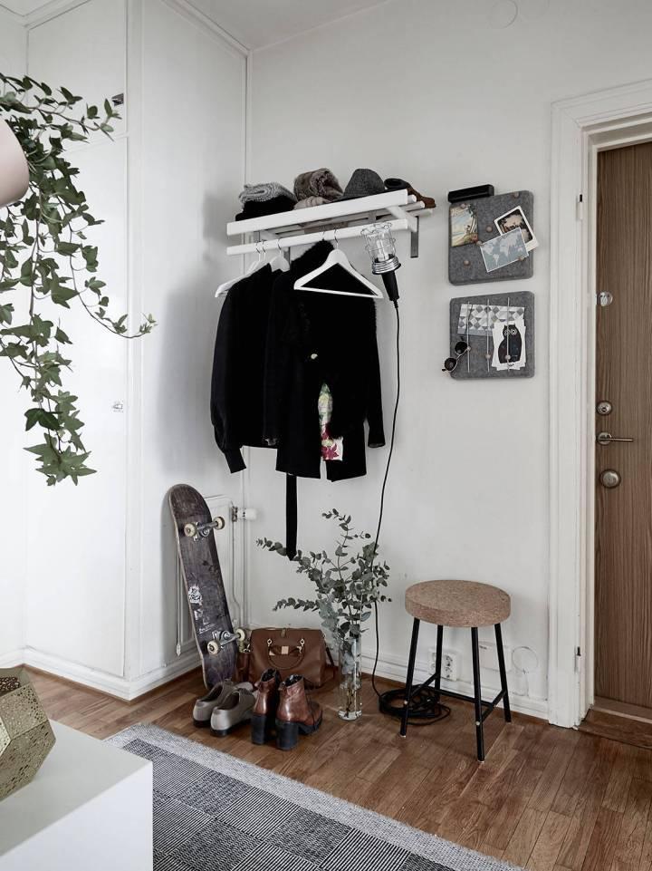 texturas decoración rincon trabajo en casa oficina salon oficina en casa interiores espacios pequeños estilo nórdico escandinavo espacios de trabajo espacio almacenaje decoración decoración salones decoración interiores blog decoración nórdica
