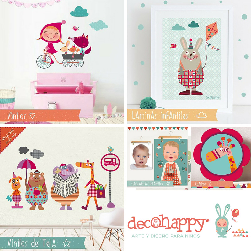 Decohappy vinilos infantiles y decorativos blog tienda for Laminas infantiles estilo nordico