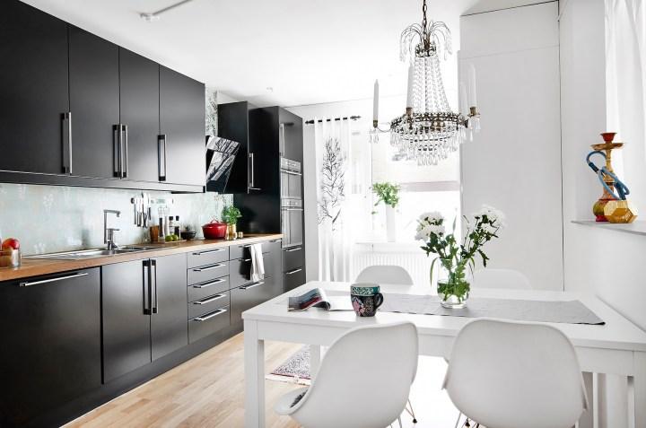 lamparas chandelier lamparas araña interiores minipisos estilo nórdico escandinavo decoración pisos pequeños decoración moderna decoración elegante señorial blog decoración nórdica
