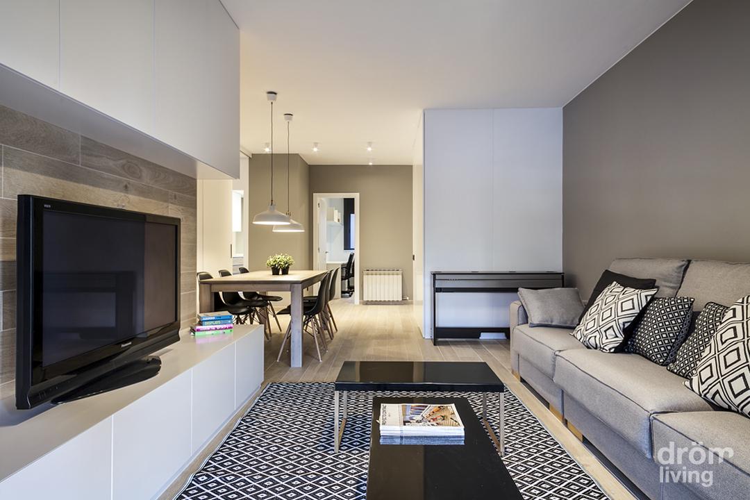 Hogares de nuestros lectores piso en badalona barcelona - Decorar piso moderno ...