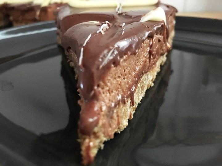 tartas rápidas tartas fáciles tarta mousse tarta fácil nutella Tarta de mousse de nutella recetas delikatissen postres nutella mousse nutella