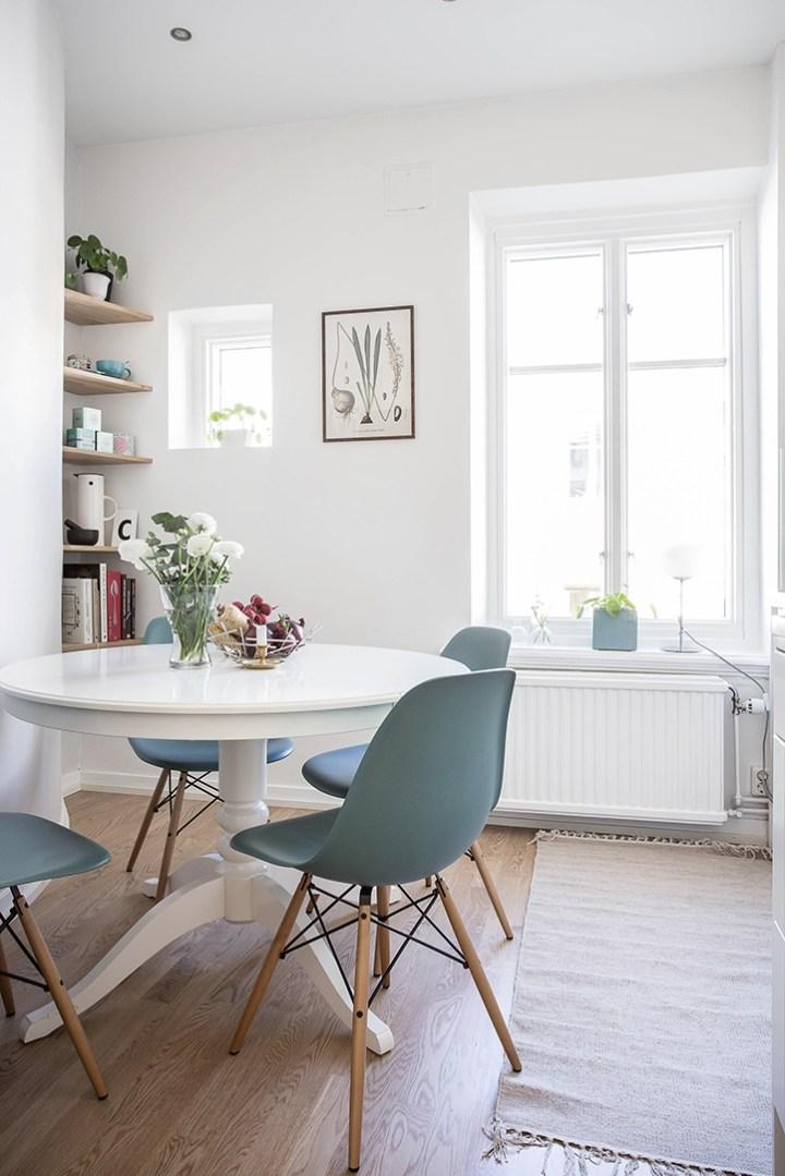 interiores espacios pequeños interiores escandinavos estilo nórdico Estilismo de interiores dormitorio en tonos crema decoración interiores decoracion dormitorios cocina nórdica moderna blog decoración nórdica