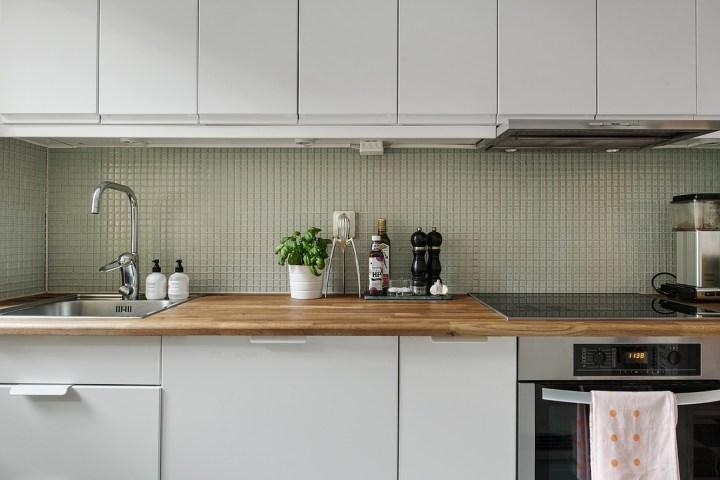 Si al papel de pared pintado en la cocina blog - Revestimientos para paredes de cocina ...