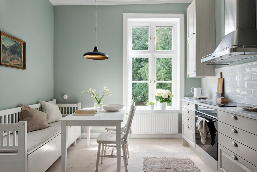 Cocina serena de aire country blog decoraci n estilo - Cocinas estilo nordico ...
