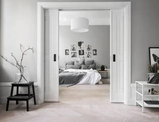 Apartamento individual bien aprovechado, blog decoracion interiores, decoracion dormitorios, decoración en grises madera natural, decoración nórdica, decoración pisos pequeños, estilo nórdico, piso individual