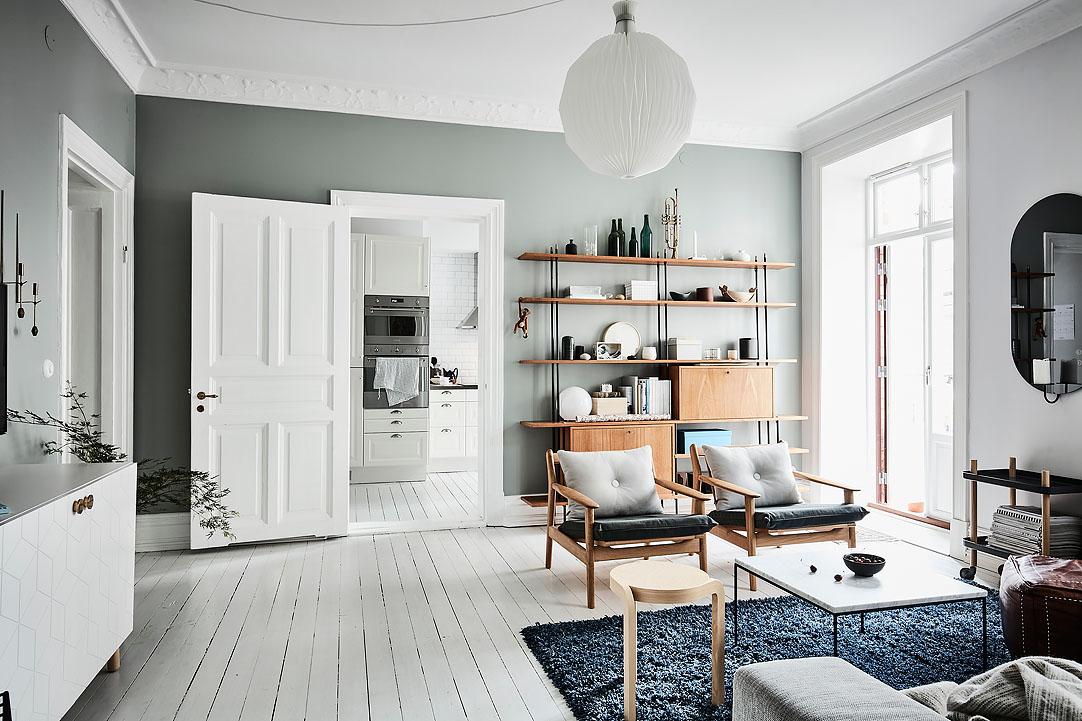 Cálidos detalles en un piso nórdico   blog decoración estilo ...