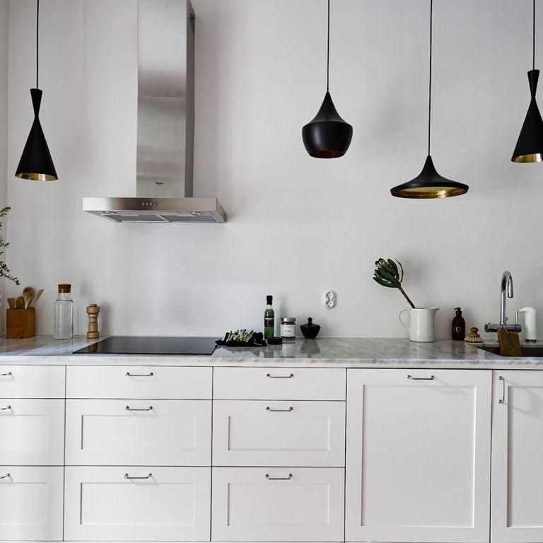 cocinas sin muebles superiores - - Blog tienda decoración ...