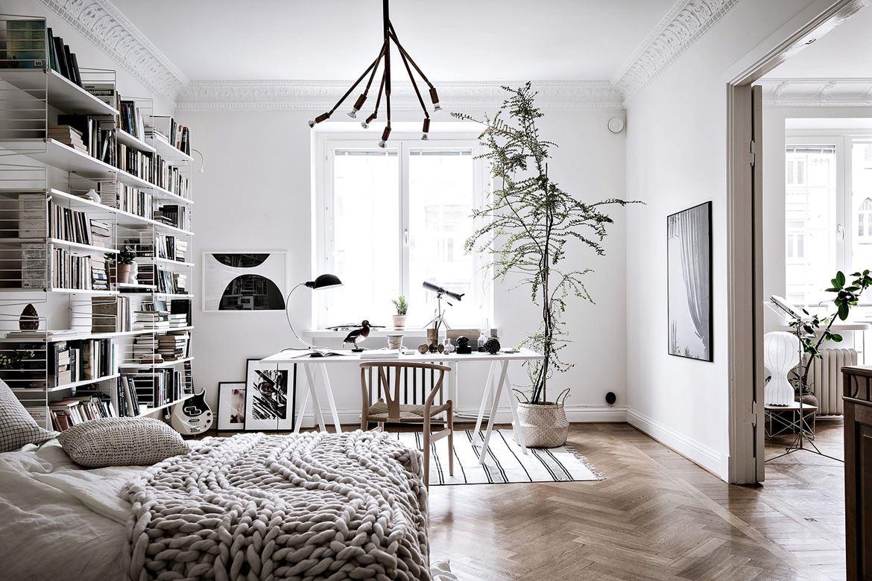Dormitorio con zona de estudio muy natural blog tienda for Dormitorio estudio