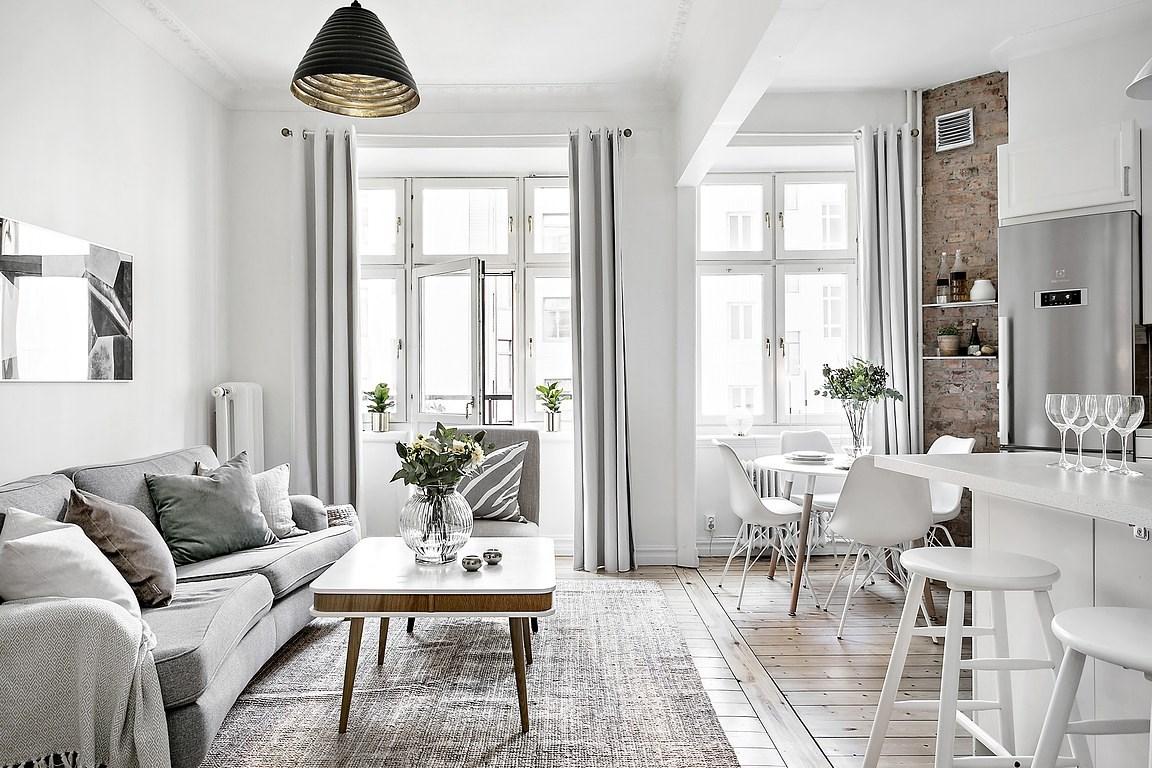 open concept mini pisos distribucin difana diseo pisos pequeos decoracin pisos pequeos decoracin blanco cocina abierta