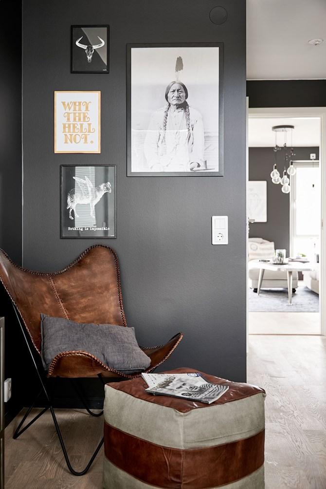 Paredes negras en todas las habitaciones - Blog decoración estilo ...