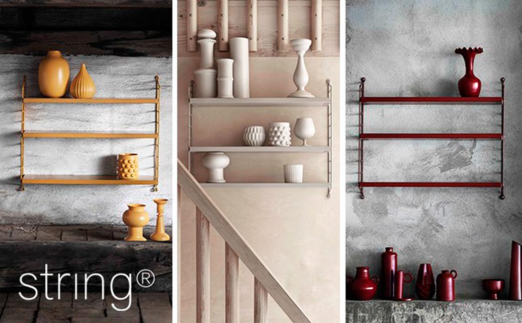 Estantería String Pocket – Nuevos Colores - Blog tienda decoración estilo  nórdico -