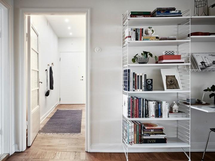 pisos pequeños interiores muebles ligeros diseño interiores Decoración ligera a falta de espacio decoración espacios pequeños decoración escandinava cocina blanca blog decoración nórdica