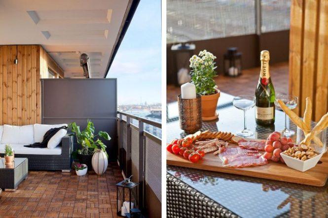 terraza de madera revestimientos terrazas piso sueco madera para exterior estilo sueco diseño de terrazas y balcones decoración exterior decoración de balcones blog decoración nórdica