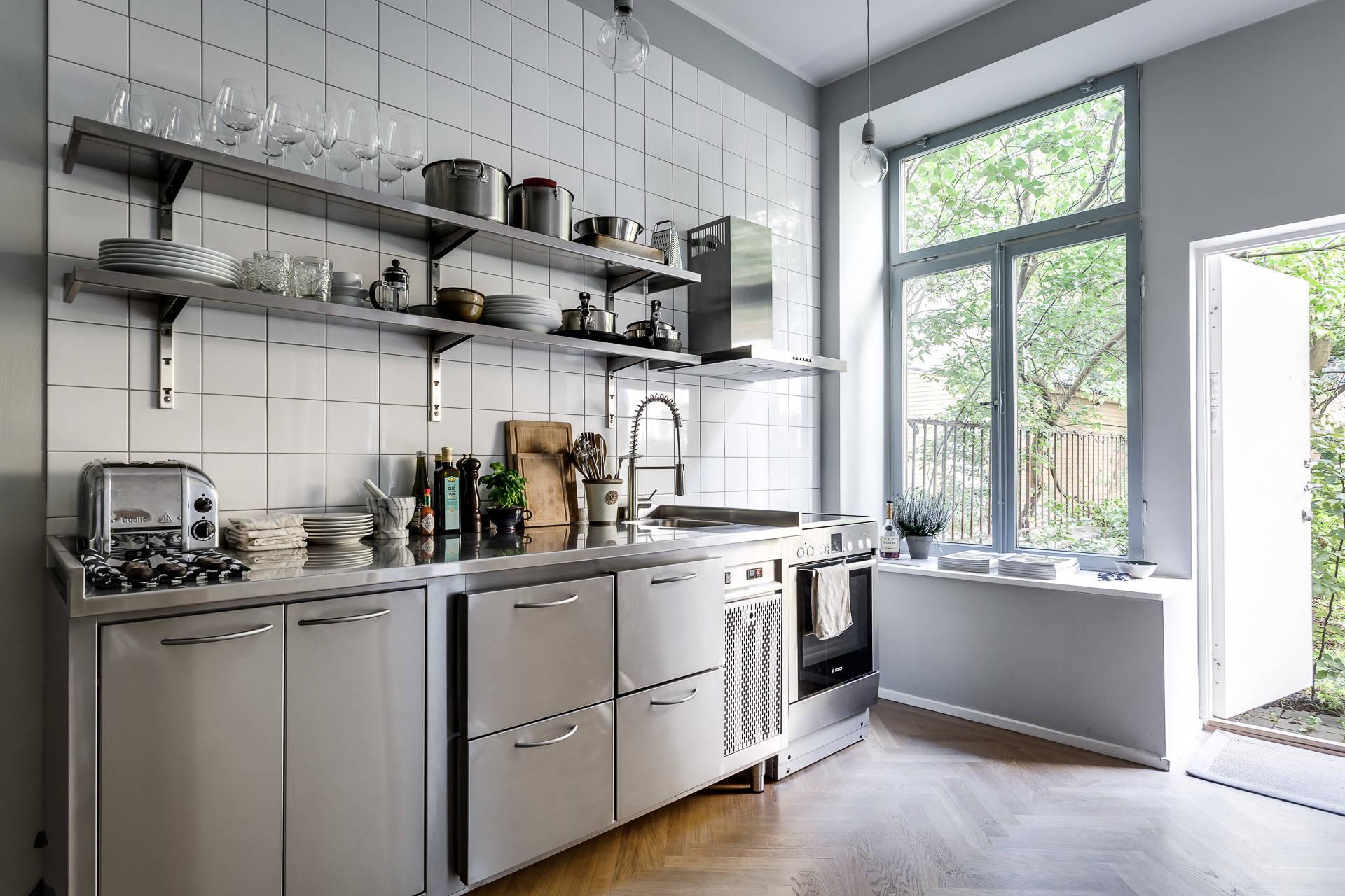 Pequeña cocina inspirada en una profesional - Blog tienda decoración ...