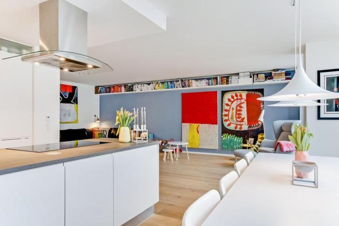 piso de lujo en copenhague piso danes Louis Poulsen HAY fritz hansen diseño nórdico diseño danés blog decoración nórdica Bang & Olufsen