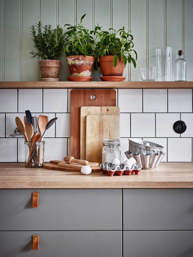 verde en la cocina tendencia 2017 verde estilismo cocina cocina nórdica cocina madera cocina gris cocina grande cocina comedor blog decoración nórdica