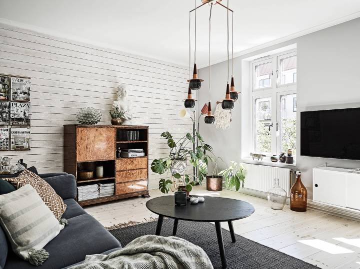 Paredes con paneles de madera blog decoraci n estilo - Decoracion con paneles ...