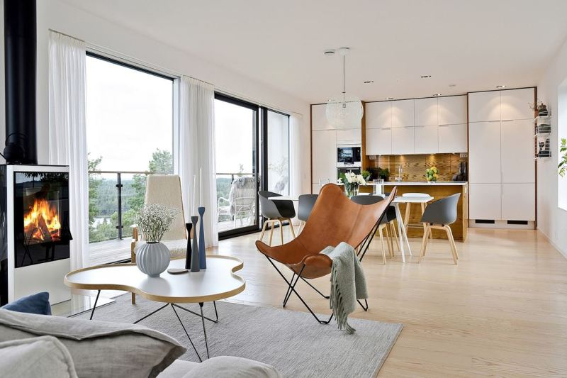 Ganar en amplitud con una cocina abierta al salón - Blog tienda ...