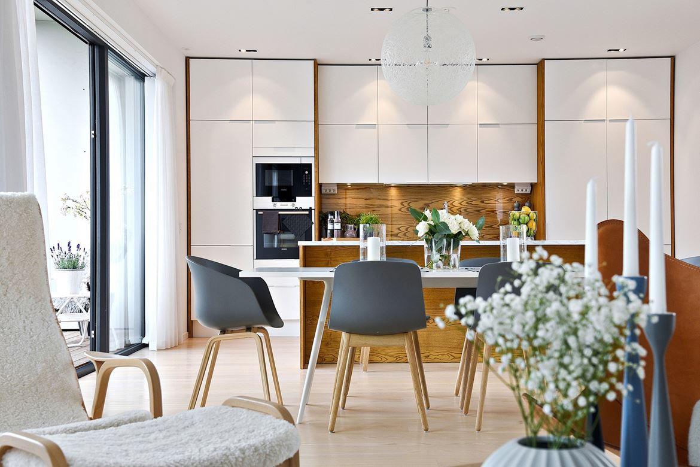 Ganar en amplitud con una cocina abierta al salón | delikatissen ...