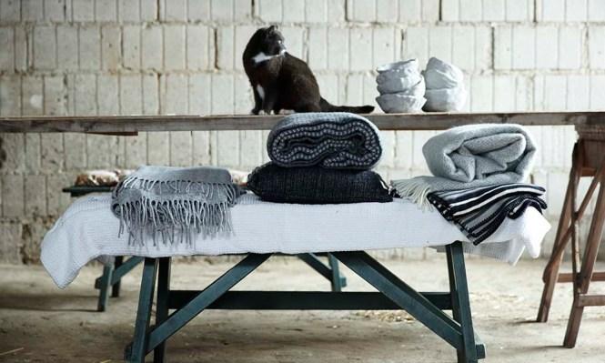 Klippan Yllefabrik ? Elegantes textiles de diseño escandinavo