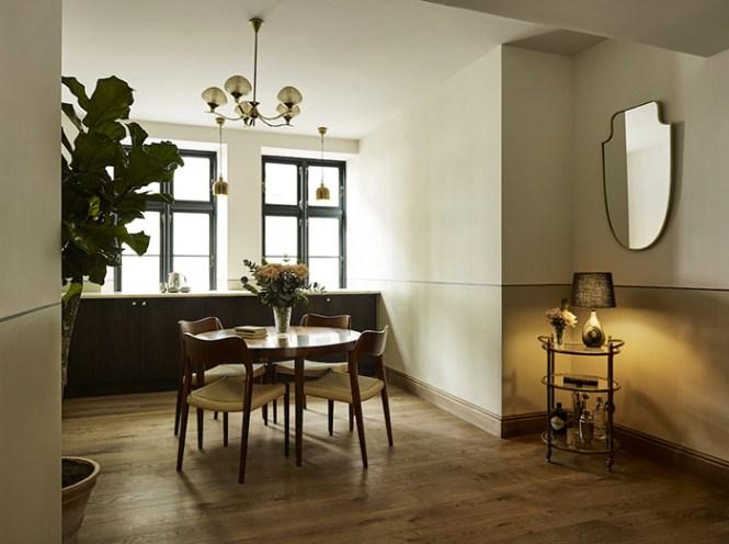 muebles de diseño de época hotel Sanders en Copenhague estilo nórdico hoteles estilo nórdico clásico estilo escandinavo hoteles decoración hoteles