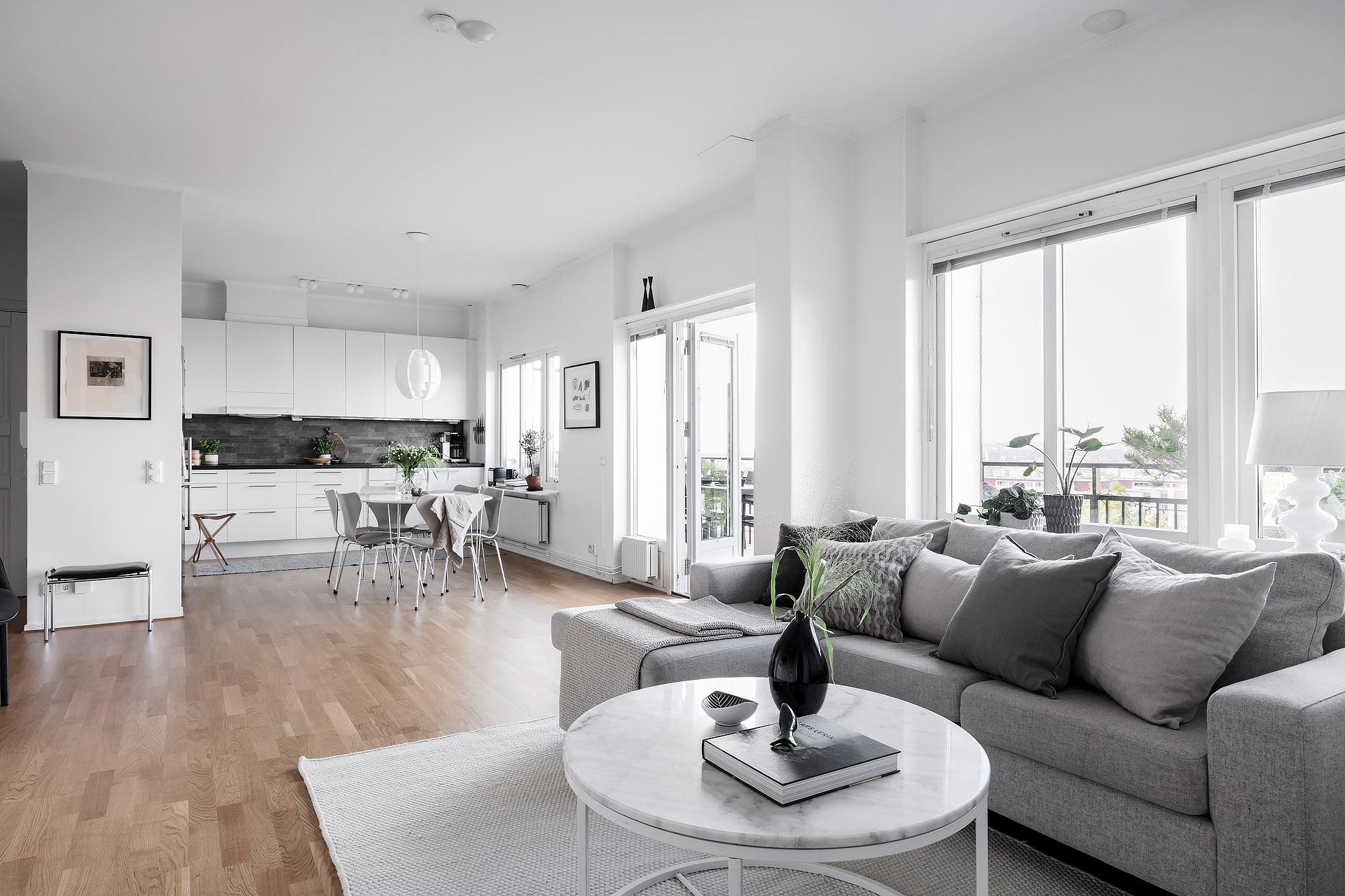 Peque o piso con vistas blog tienda decoraci n estilo for Decoracion pisos acogedores