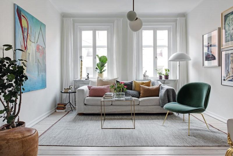 terciopelo decoracion tendencias deco 2018 sillón sofa terciopelo fundas cojin estilo nórdico estilo escandinavo decoración salones