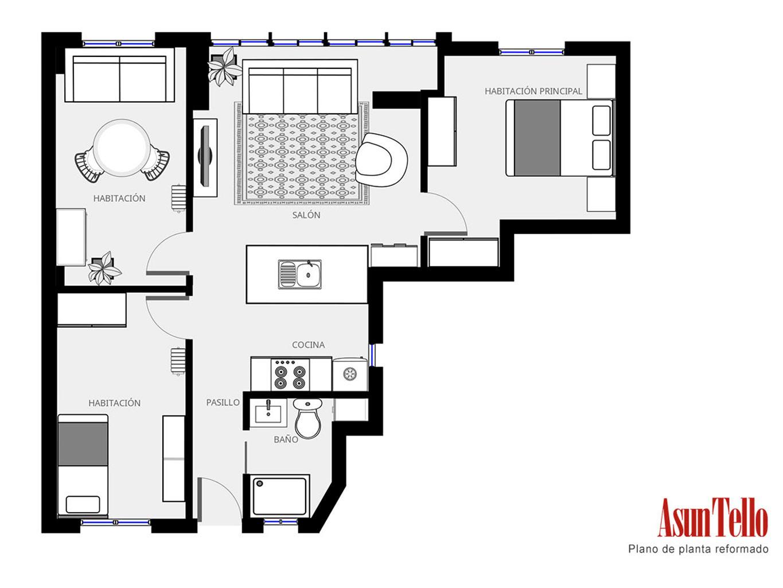 Piso de 65 m² reformados en Madrid se vende en 24 horas - Blog ...