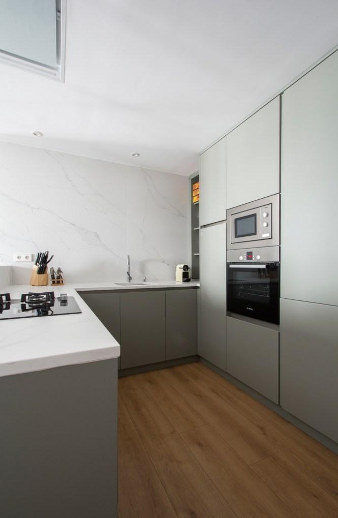 pisos reforma madrid piso malasaña open concept estilo nórdico estilo escandinavo distribución diáfana decoración nórdica decoración neutros decoración moderna cocina abierta