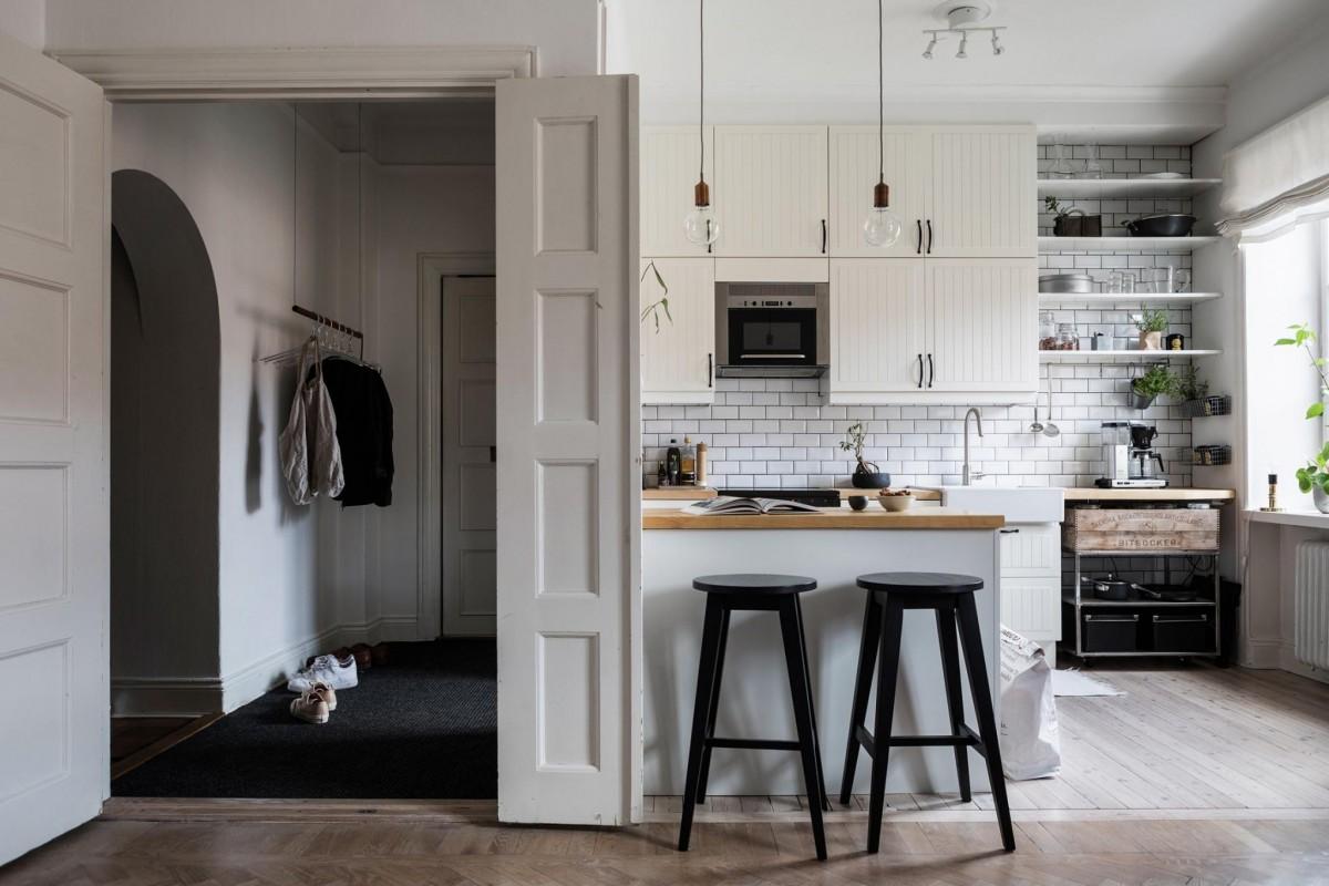 Pisos peque os con cocinas abiertas blog tienda - Piso pequeno estilo nordico ...