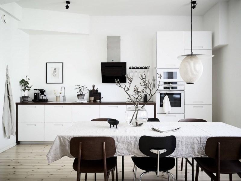 white kitchen scandinavian kitchen estilo escandi cocinas pequeñas cocinas nórdicas cocinas escandinavas cocinas blancas