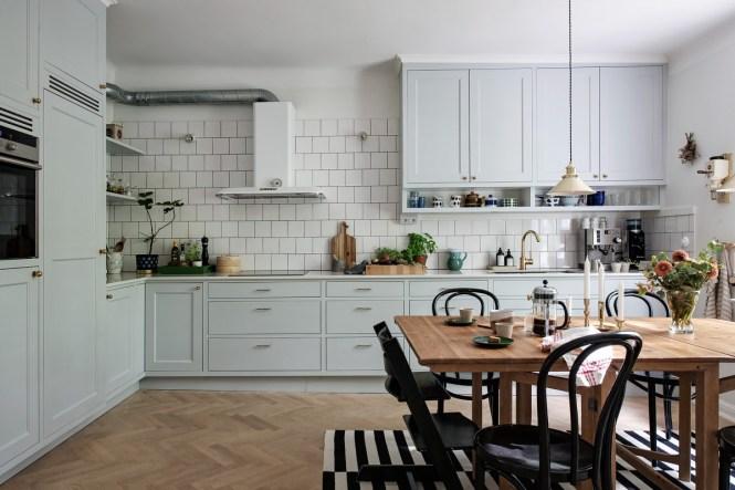 decoración cocinas cocinas nórdicas cocinas grandes cocinas escandinavas cocinas con office cocinas con mesa comedor cocina gris cocina americana