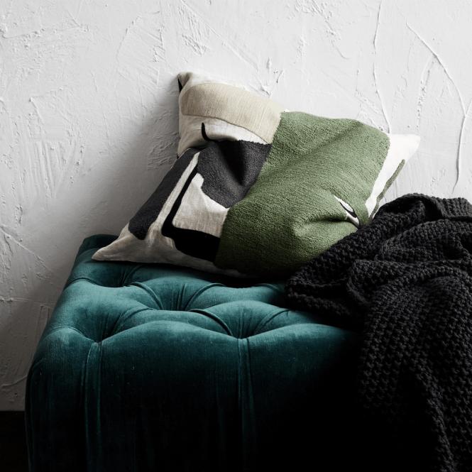 textiles hogar terciopelo tendencias textiles 2018 renovar textiles diseño nórdico decoración cojines cojines otoño invierno cojines nueva temporada accesorios hogar