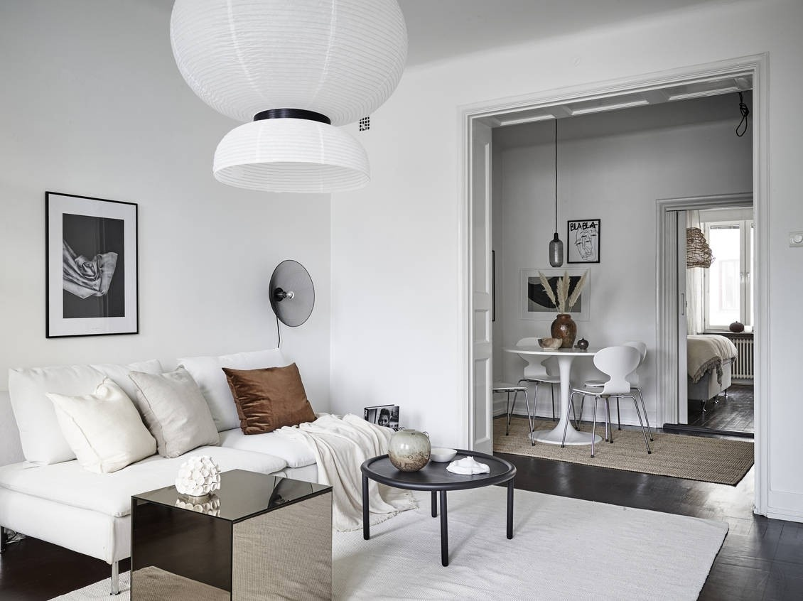 Pequeño piso sueco con el comedor en el pasillo - Blog ...
