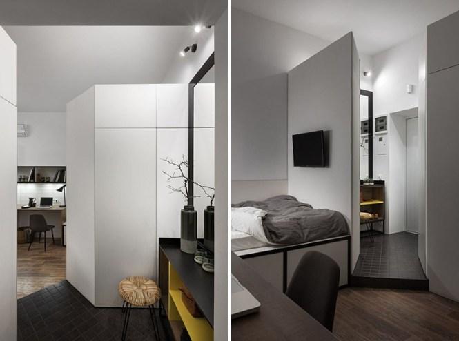 viviendas estudiantes soluciones residencia estudiantes piso estudiantes mini piso diseño estilo nórdico decoración pisos pequeños