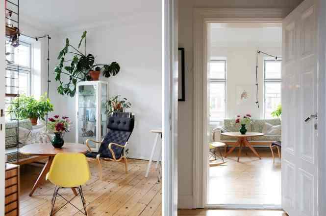 pisos en malmö muebles de diseño decorar en varios colores decorar con plantas decoración pisos pequeños decoración mid century modern