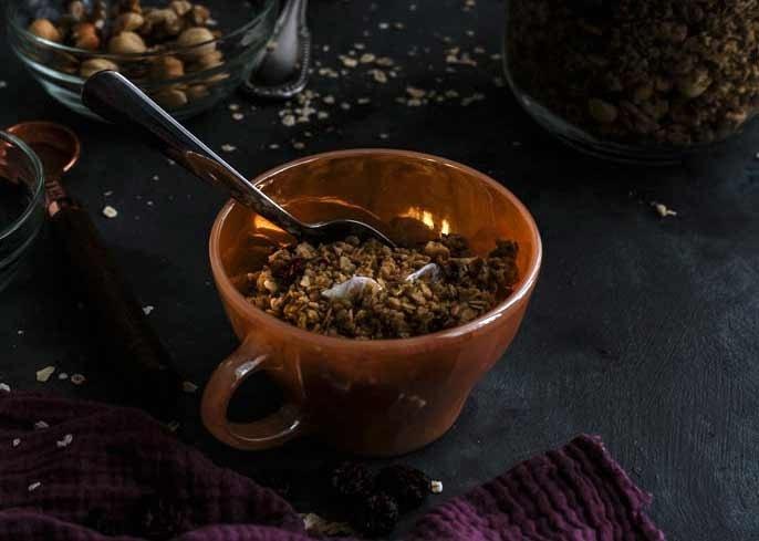 oats muesli casero muesli miel honey granola casera granola avena arándanos secos