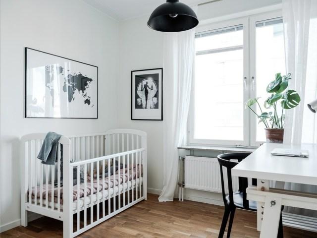 Pequeño piso con espacio común abierto