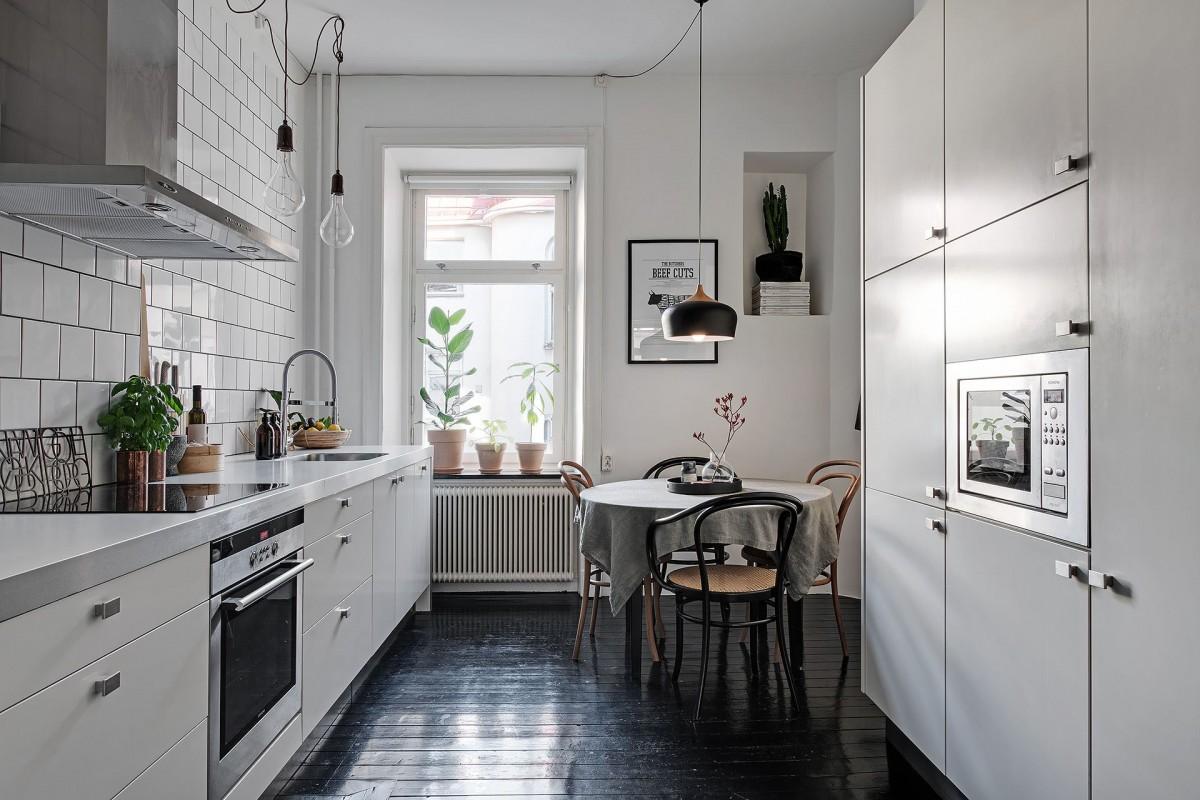 Cocina cerrada nórdica - Blog tienda decoración estilo nórdico -