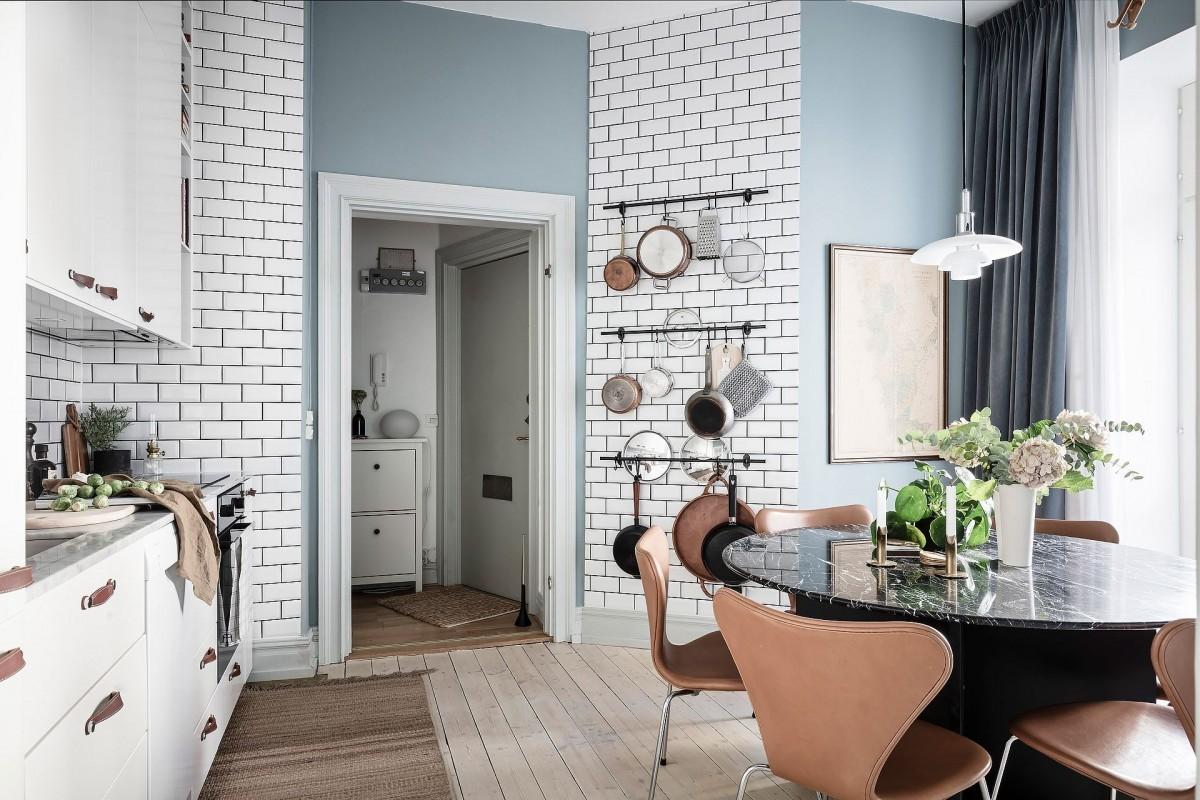 Pequeño piso, amplia cocina-comedor - Blog tienda decoración ...